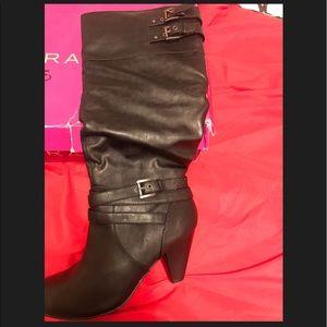 Rampage Black Tall Boots